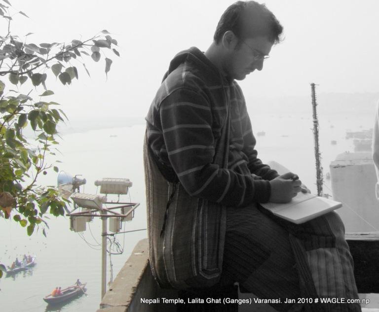 dinesh wagle, nepali journalist in varanasi