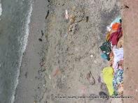 dirty rameswaram beach near rameswaram temple