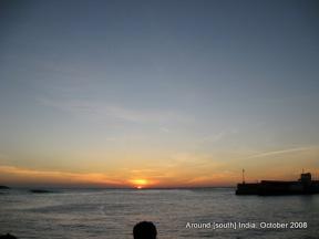 Sunrise in Kanyakumari