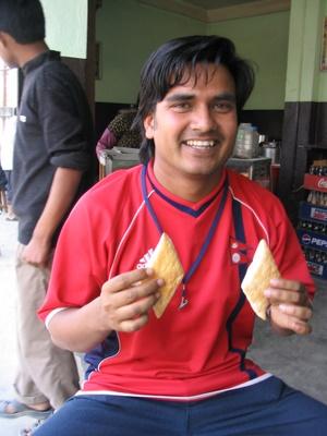 ujjwal acharya with puff
