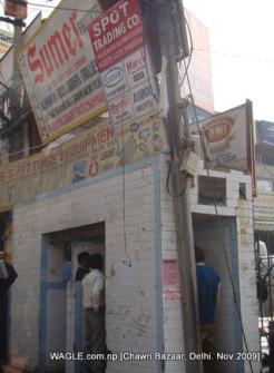 chawri bazaar, delhi, urination