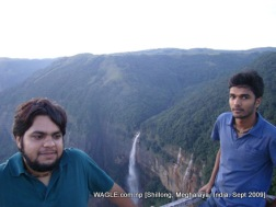 fall of cherrapunji