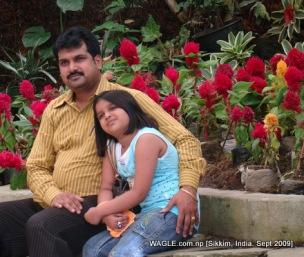 Flower garden, gangtok, sikkim