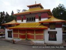 monastery of gangtok, sikkim