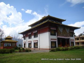 monastery of sikkim