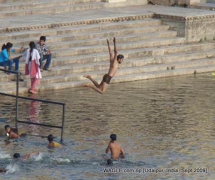 Pichola lake Udaipur, India