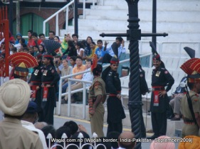 wagah, india pakistan border