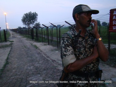 wagah, india pakistan border