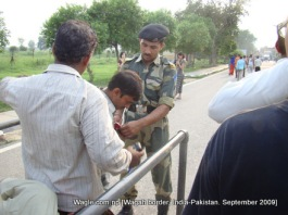 wagah border india pakistan