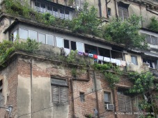 kolkata, india, old houses