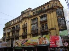 billboards at a house in kolkata