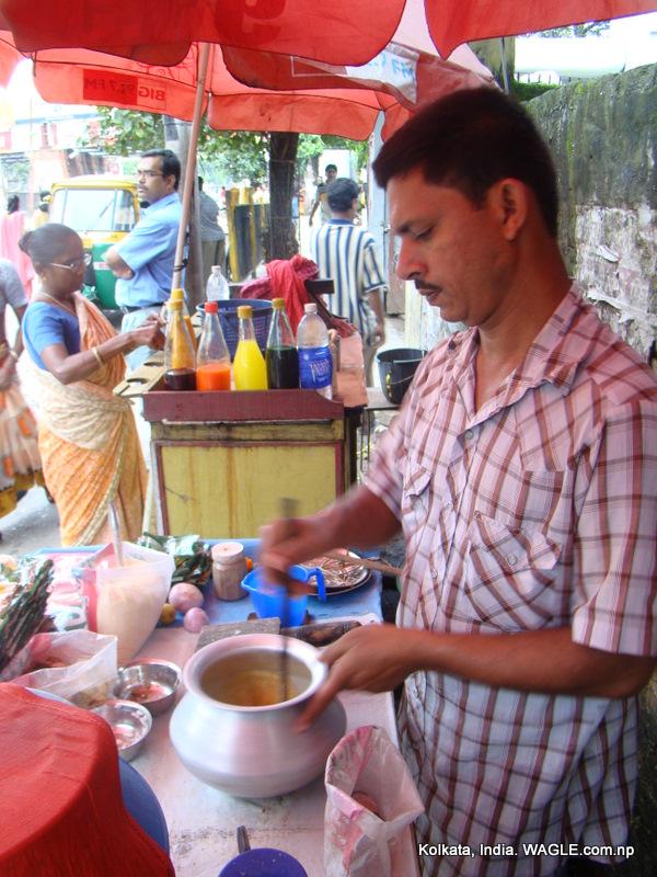 sharbat in kolkata street