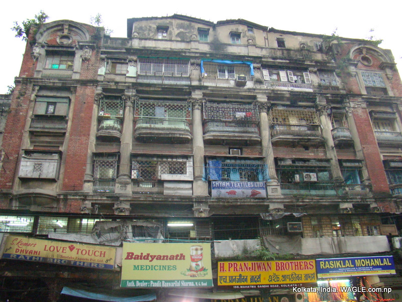 A hosue in MG Road, Kolkata