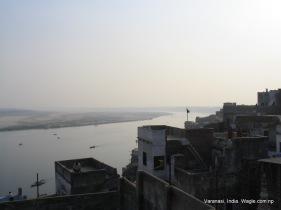 Varanasi Ghats Gallis and Ganges