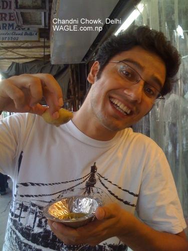chandni chowk delhi pani puri..