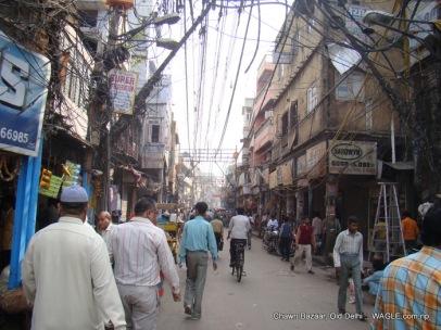 chawri bazaar old delhi. wired