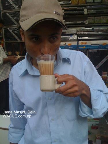 jama masjid delhi tea