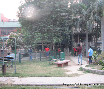 block b, jangpura extension, park