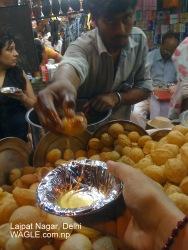 panipuri pani puri of lajpat nagar delhi