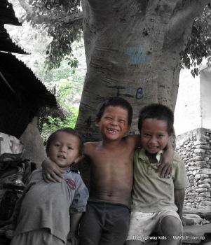 highway kids of nepal
