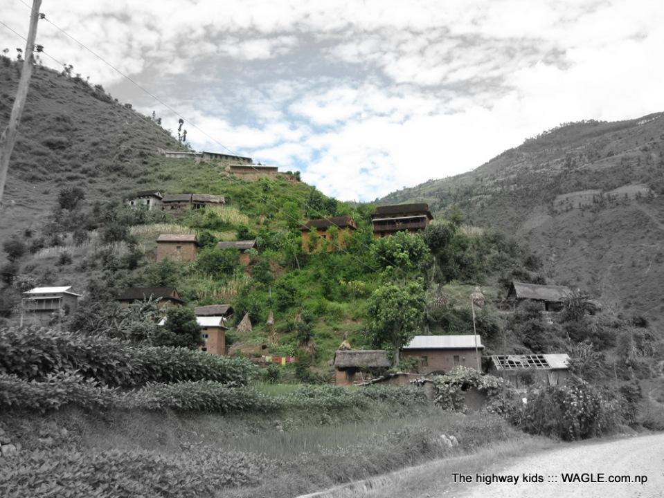 a typical Nepali village