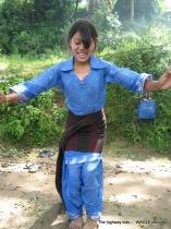 highway kids of nepal playing skipping