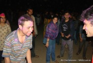 india holi jnu chat festival
