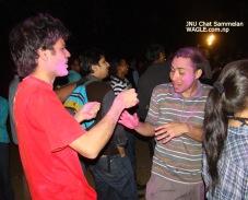 JNU Chaat festival and India holi