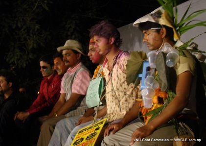 JNU Chaat Sammelan and India Holi