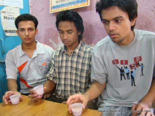 nepali students of ca in delhi
