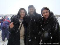 dinesh pavan gokul rohtang pass himachal pradesh india