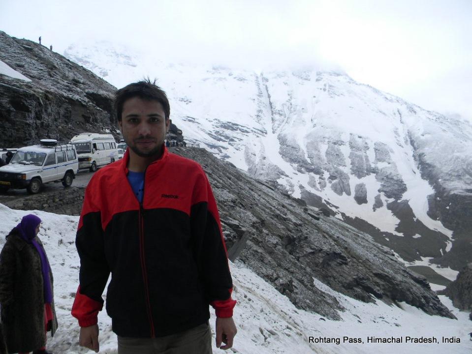 gokul dahal rohtang pass himachal pradesh india
