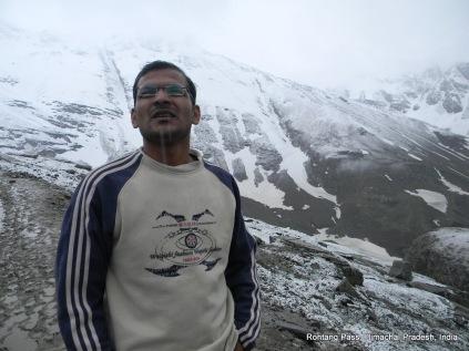 rajesh. rohtang pass himachal pradesh india
