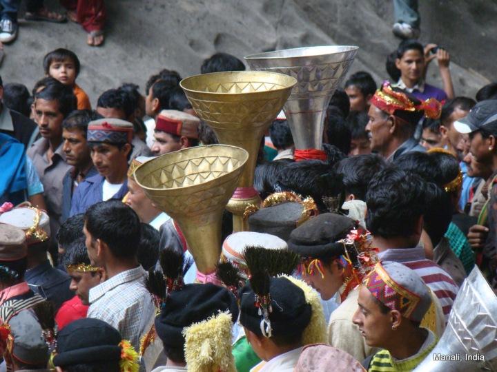 Worshipping Goddess Hidimba