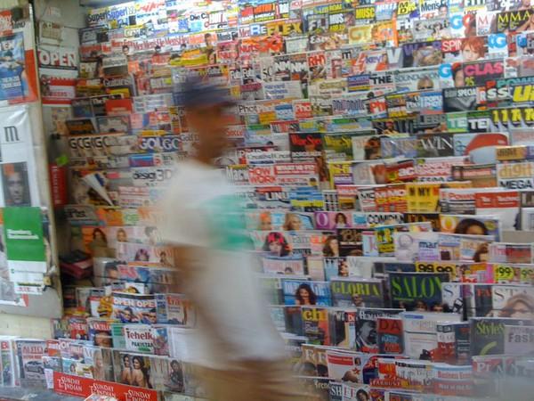 khan market magazine stall
