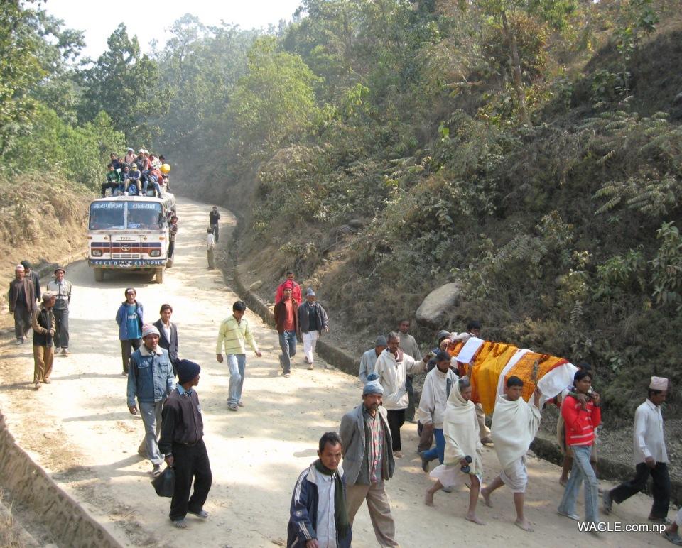 death procession