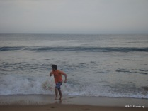 Mababalipuram Beach- Wave (Run)