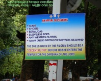 Dress Code for Tirupati Temple