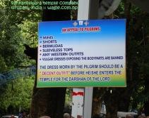 Dress Code for Tirupati Temple