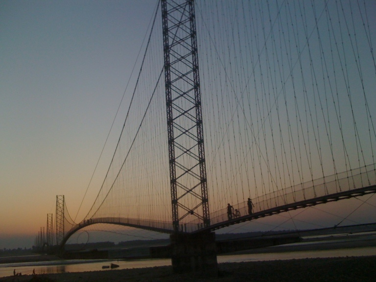 Chandani Dodhara Bridge on Mahakali River