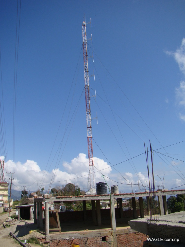 FM tower in Dadeldhura