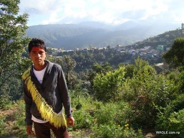 kids of dadeldhura nepal on the day of dashain tika