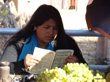 So You Guessed What She is Reading..no?
