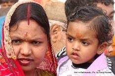 At the Basantapur Holi Cheer pooja