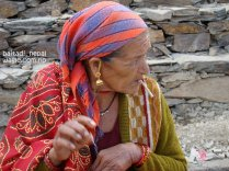smoking woman of far west nepal2