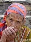 smoking woman of far west nepal6