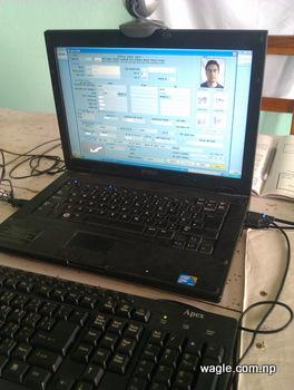 election commission registration card