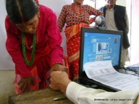 Lalitpur Nepal Voter ID Card