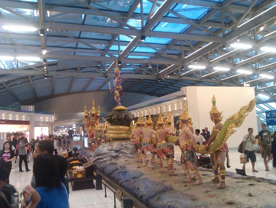 Spotted at Suvarnabhumi airport, Bangkok