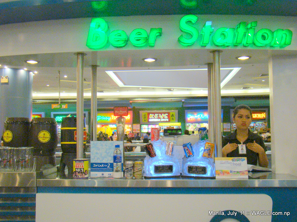 beer station in mall of asia, manila